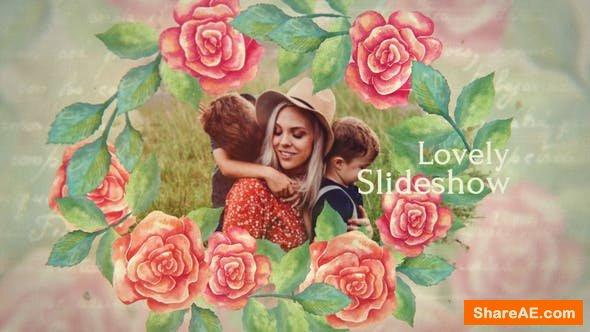 Videohive Lovely Slideshow 24769210