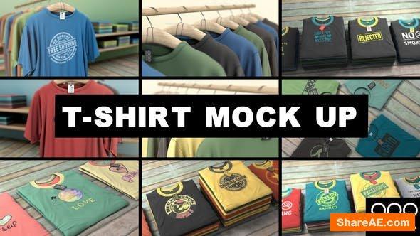 Videohive T-Shirt Mockup