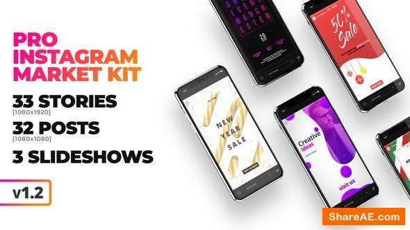 Videohive [PRO] Instagram Marketing Kit