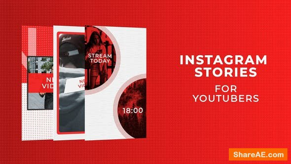 Videohive Instagram Stories for YouTubers