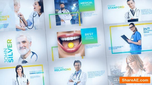 Videohive Medicals - Medicine Healthcare Slideshow