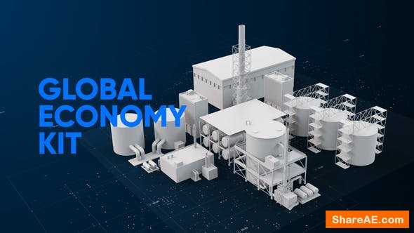 Videohive Global Economy Broadcast Pack