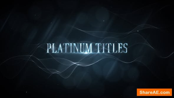 Videohive Platinum Luxury Titles