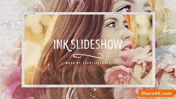 Videohive Ink Slideshow / Romantic Memories / Wedding Photo Album / Vintage Opener