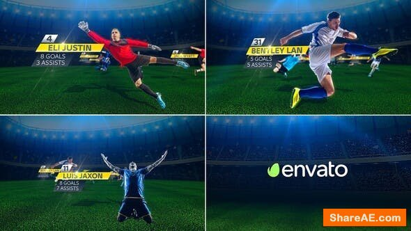 Videohive Soccer Players