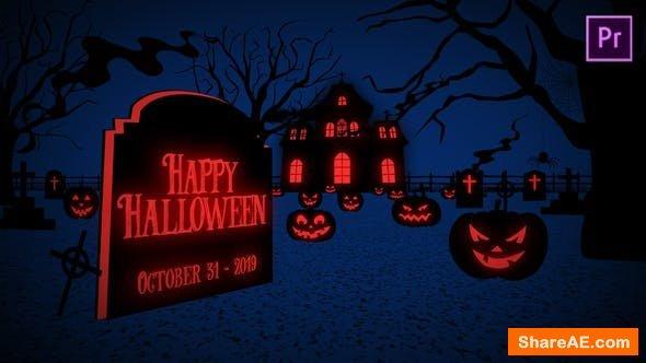 Videohive Halloween Greetings - Premiere Pro