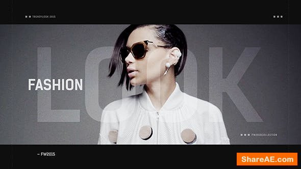 Videohive Fashion Look / Stylish Opener / Clothes Collection / Event Promo / Models and Designers