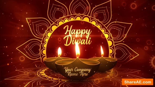 Videohive Diwali Festival Opener