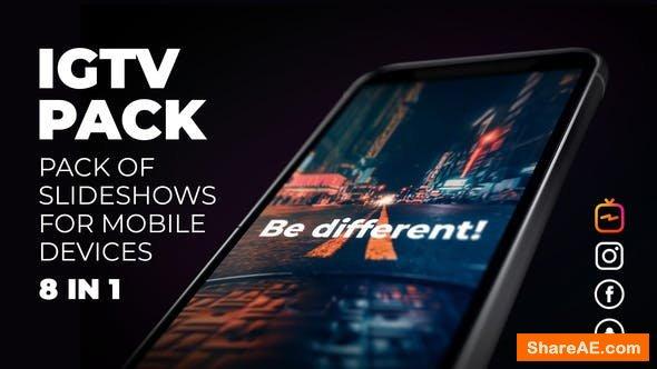 Videohive Instagram Slideshow Pack - IGTV, Post, Stories