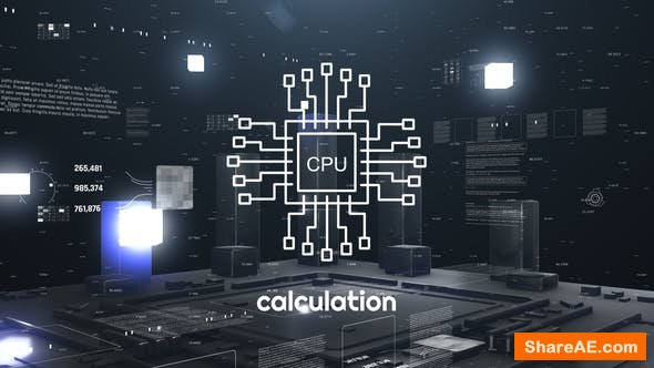 Videohive High Technology or Science Opener 24276312