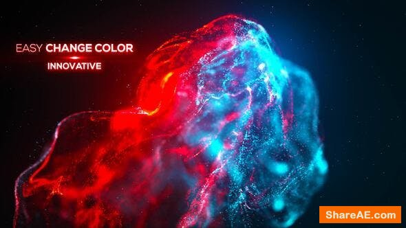 Videohive Smoke Particle Titles - Advection