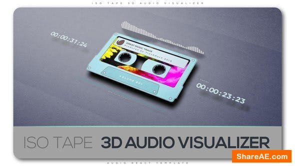 Videohive ISO Tape 3d Audio Visualizer