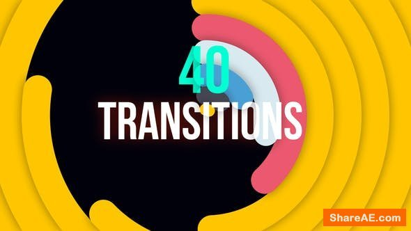 Videohive Minimal Colorful Transitions - Premiere Pro