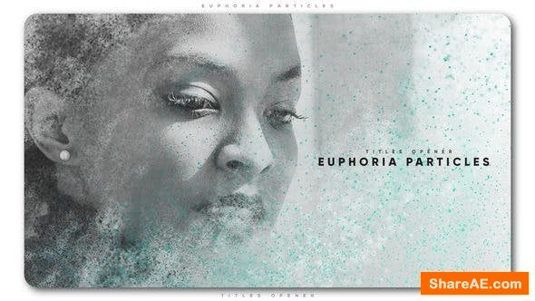 Videohive Euphoria Particles Titles Opener