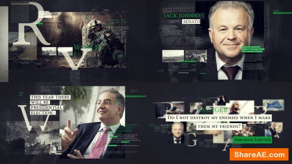 Videohive Political Promo TV