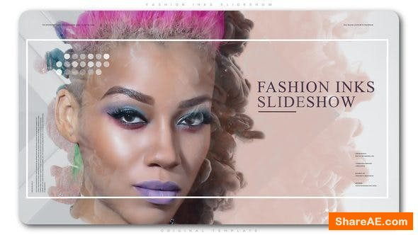 Videohive Fashion Inks Slideshow