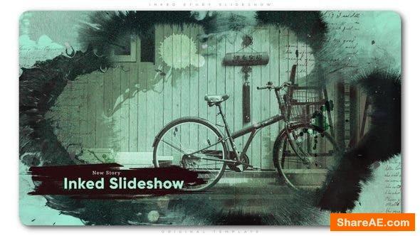 Videohive Inked Story Slideshow
