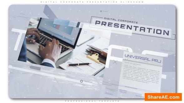 Videohive Digital Corporate Presentation Slideshow
