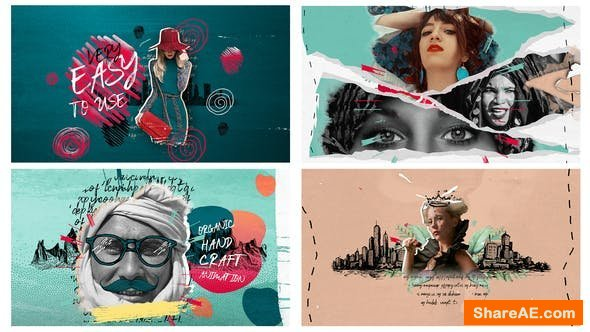 Videohive 4k Hand Drawn Promo Pack