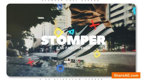 Videohive Stomper Fast Opener