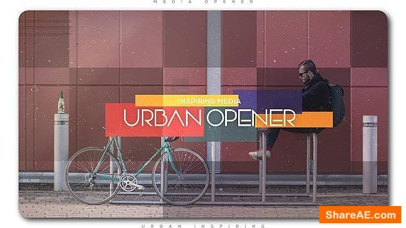 Videohive Urban Inspiring Media Opener | Slideshow