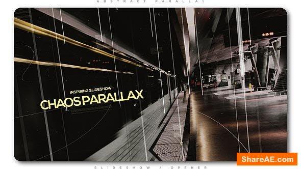 Videohive Inspiring Slideshow Chaos Parallax
