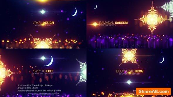 Videohive Ramadan cinematic titles