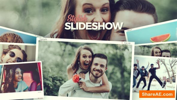 Videohive Slideshow Photo Opener