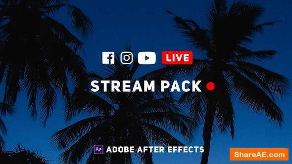 Videohive Online Live Streaming Pack
