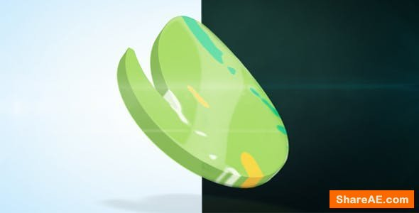 Videohive 3D Liquid Logo