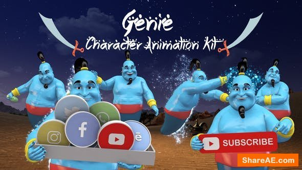 Videohive Genie - Character Animation Kit