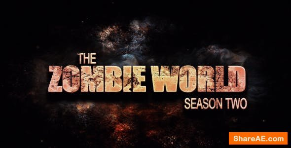 Videohive The Zombie World: Season 2
