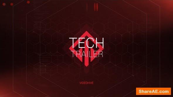 Videohive Tech Trailer Titles