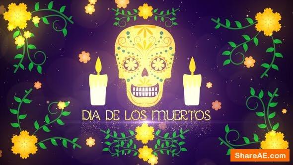 Videohive Dia De Los Muertos Opener