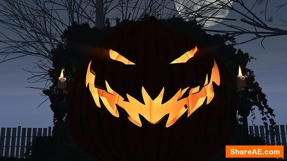 Videohive Halloween Forest