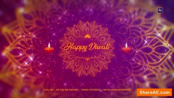 Videohive Diwali Wishes Logo