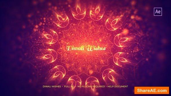 Videohive Diwali Wishes 22799197