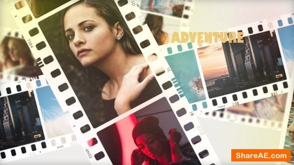 Videohive FilmStrip Photo Opener