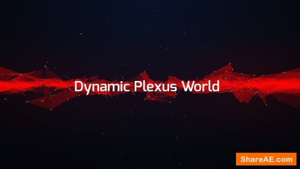 Videohive Dynamic Plexus World