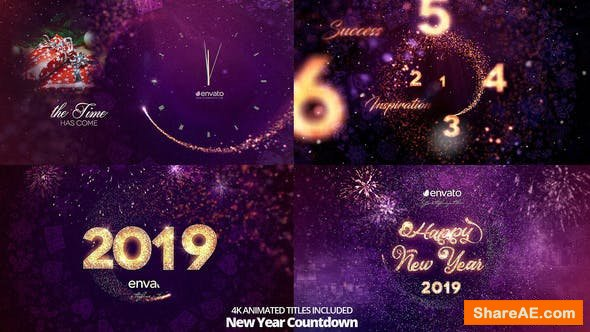 Videohive Special New Year Countdown 2020