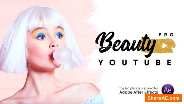 Videohive Beauty Pro - Youtube Pack