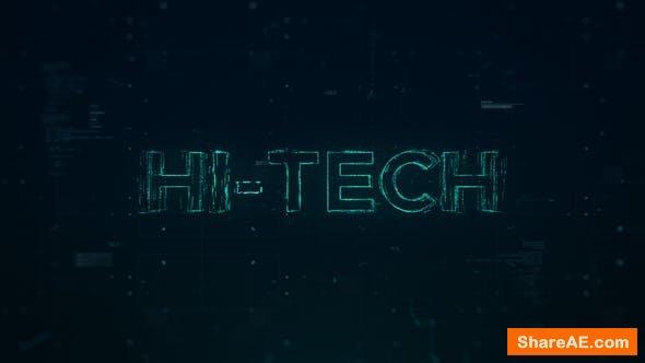 Videohive Hi-Tech Opener