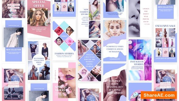 Videohive Fashion Instagram Stories