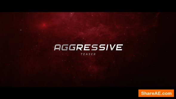 Videohive Aggressive Teaser