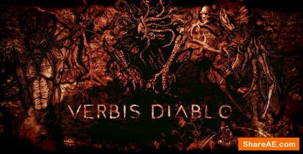 Videohive Verbis Diablo - Horror Opener