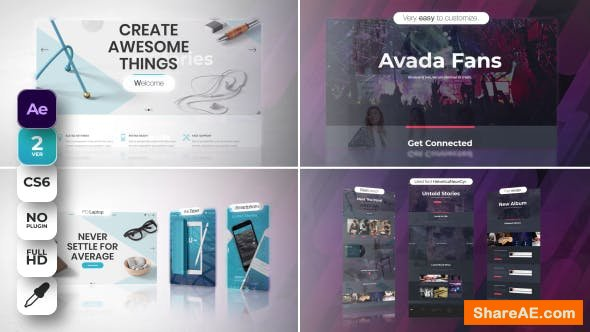 Videohive Website Promo 21313960