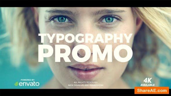 Videohive Typography Promo 20865827