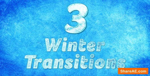 Videohive Winter Transition 3