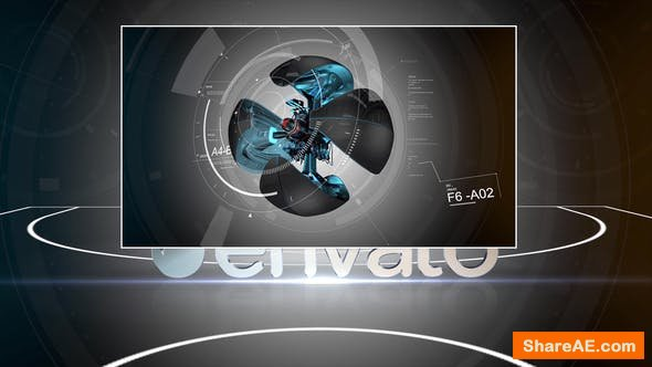Videohive Black Basketball Opener