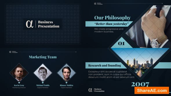 Videohive Alpha Business Presentation